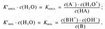 Слабкі кислоти й основи   Сила кислот і основ   Протолітична рівновага