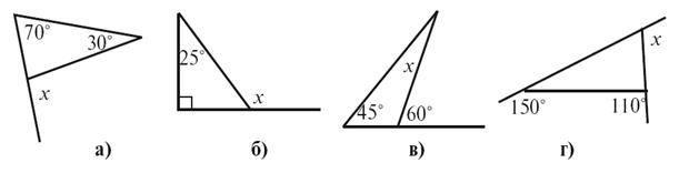 Сума кутів трикутника