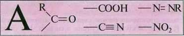Структурні ознаки молекул барвників