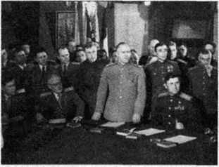Воєнна поразка та капітуляція Німеччини