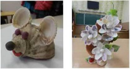 Незвичні матеріали художника скульптора
