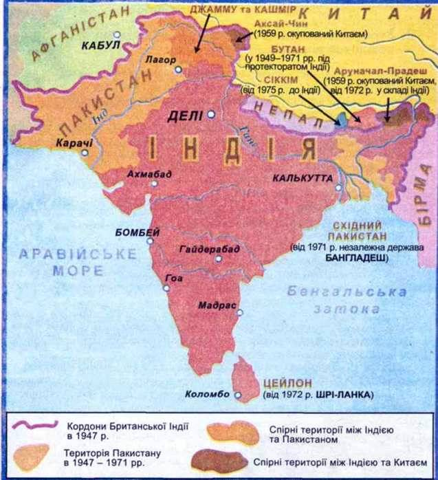 Перемога народів Індії в боротьбі за незалежність