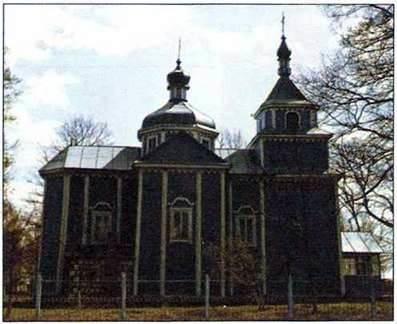 Деревяна та мурована архітектура