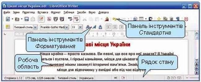 Текстовий документ і його обєкти