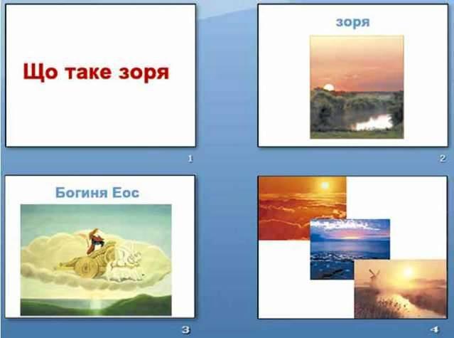 Етапи створення презентацій